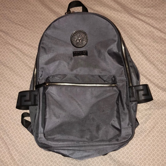 1ffb345a32 Authentic Versace Parfums backpack. M_5ab82e5cb7f72b9797838b8c